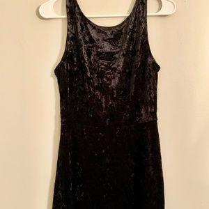 H&M Velvet Dress Size 8